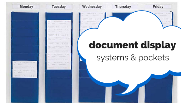 document display systems and pockets