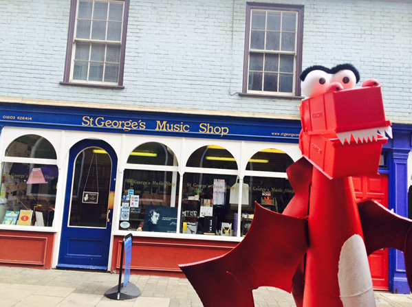 st george's music shop