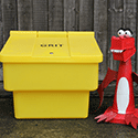 Are grit bins for public use?