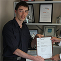 ESE Direct's Luke Palmer Awarded Certificate in Customer Service