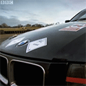 Top Gear Use ESE Direct's Safety Signs On Clarkson's BMW