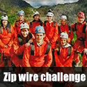A charity trip down the world's fastest zip wire for Laura