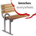 Benches, Benches Everywhere