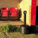 Cigarette bins to save the pitch at Sawbridgeworth FC