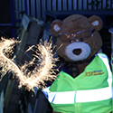 Create a safe, sparkling bonfire bonanza with industrial products