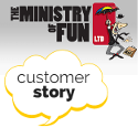Customer Story - Ministry of Fun for Cancer Research UK