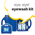 Eye, eye! whats in an eyewash kit?