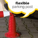Flexible Parking Posts