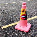 Get Crafty - A Traffic Cone As You've Never Seen Before