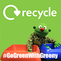 Go Green With Greeny for Recycling Week