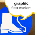 Graphic Floor Markers