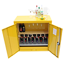 Hazardous storage drinks cabinet