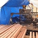 Industrial Fan Keeps Boat Builders Cool
