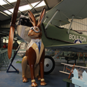 Jack, George & Bear visit Norfolk & Suffolk Aviation Museum