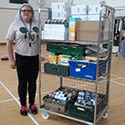 Picking trolley a valuable resource for food bank