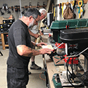 Workbenches for West Wight Men in Sheds