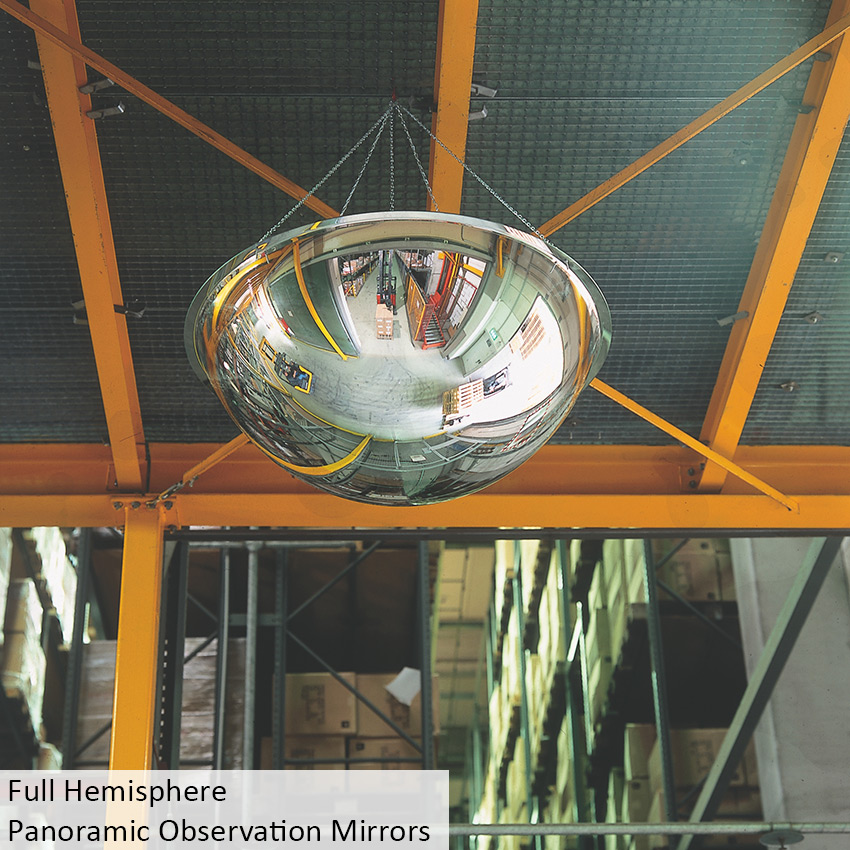Dome Mirror Panoramic Observation Mirrors Surveillance