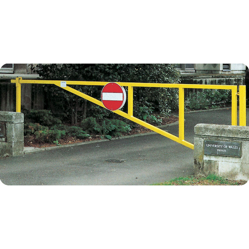 Puma manual swing barrier gates for car parks access
