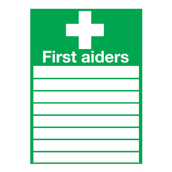 First Aiders Sign - ESE Direct