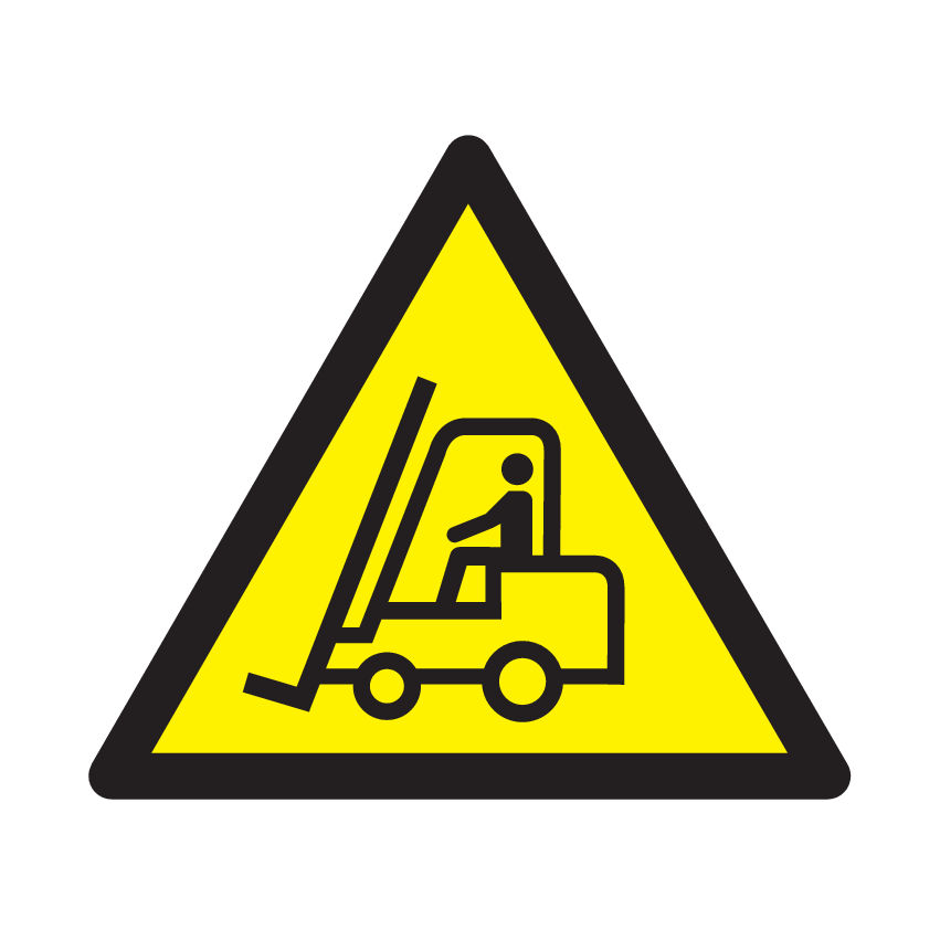 Caution Fork Lift Trucks Sign Ese Direct