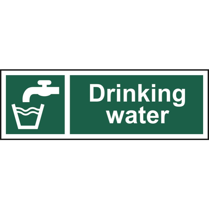 Drinking Water Sign / Label - ESE Direct