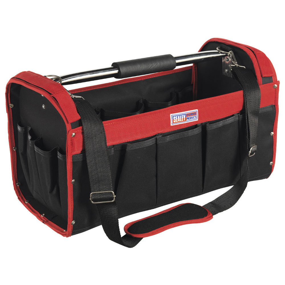 sealey ap505 open top tool storage bag ese direct