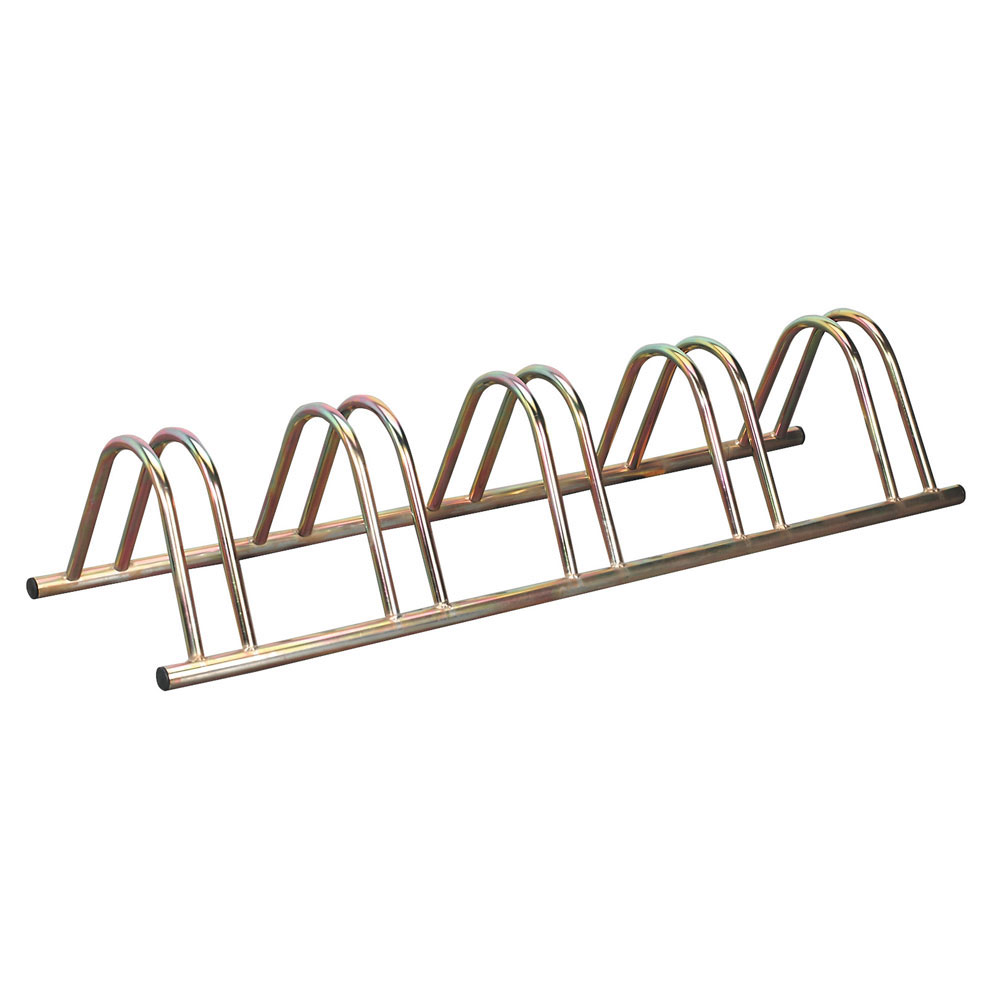 Zinc Plated Floor Bike Racks Ese Direct