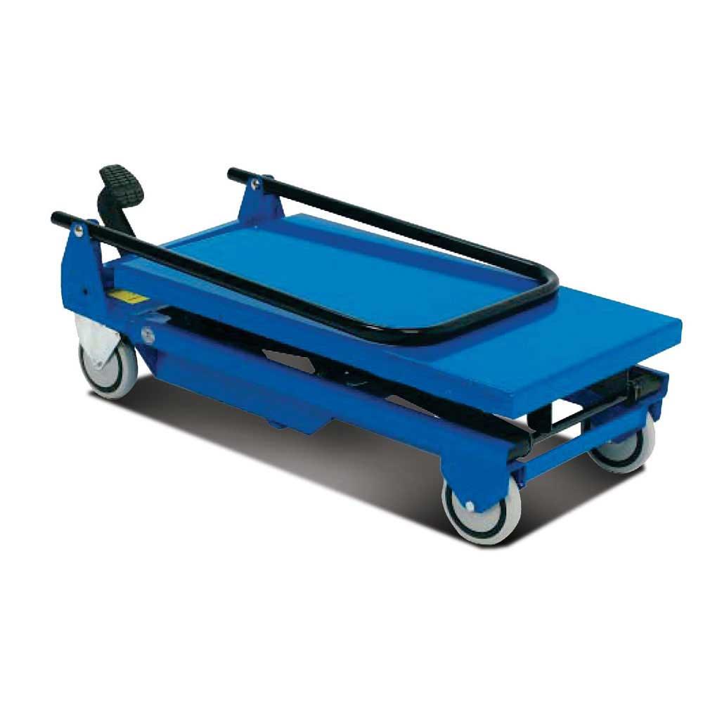Mobile Single Scissor Lift Tables Hydraulic Scissor Lift