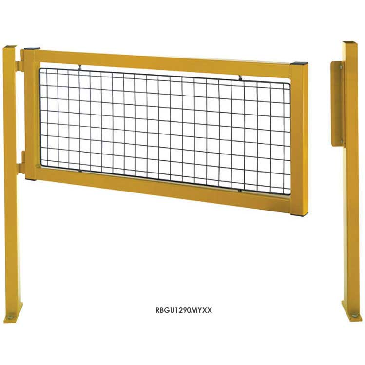 Hinged Gates for Pedestrian Safety Barriers