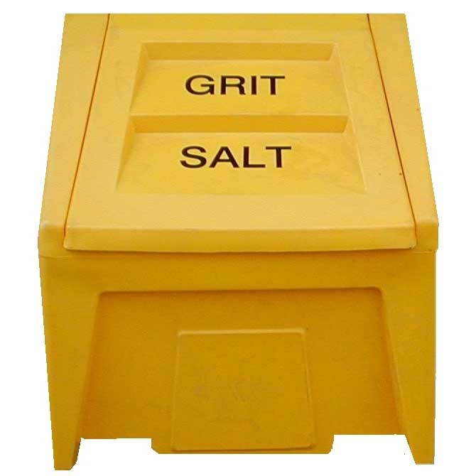 Grit & Salt Bins 198ltr