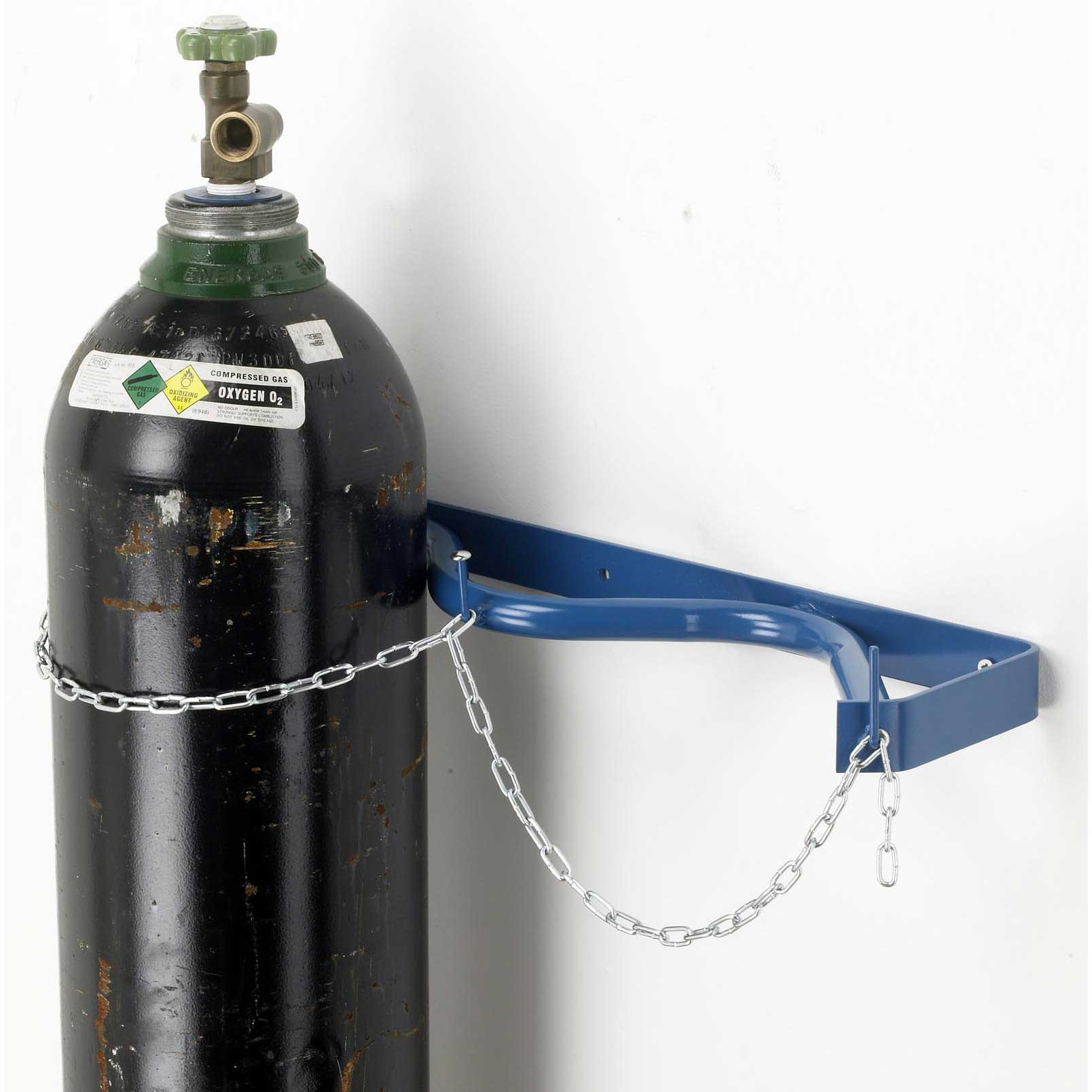 Wall Bracket To Hold 2 Gas Cylinders Upto 280mm Dia Cwb 2w