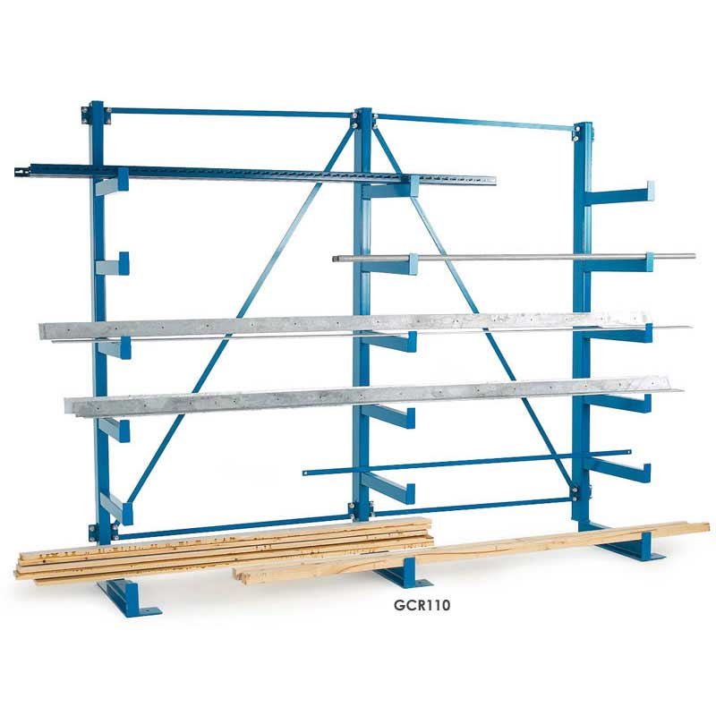 light duty cantilever shelving 1