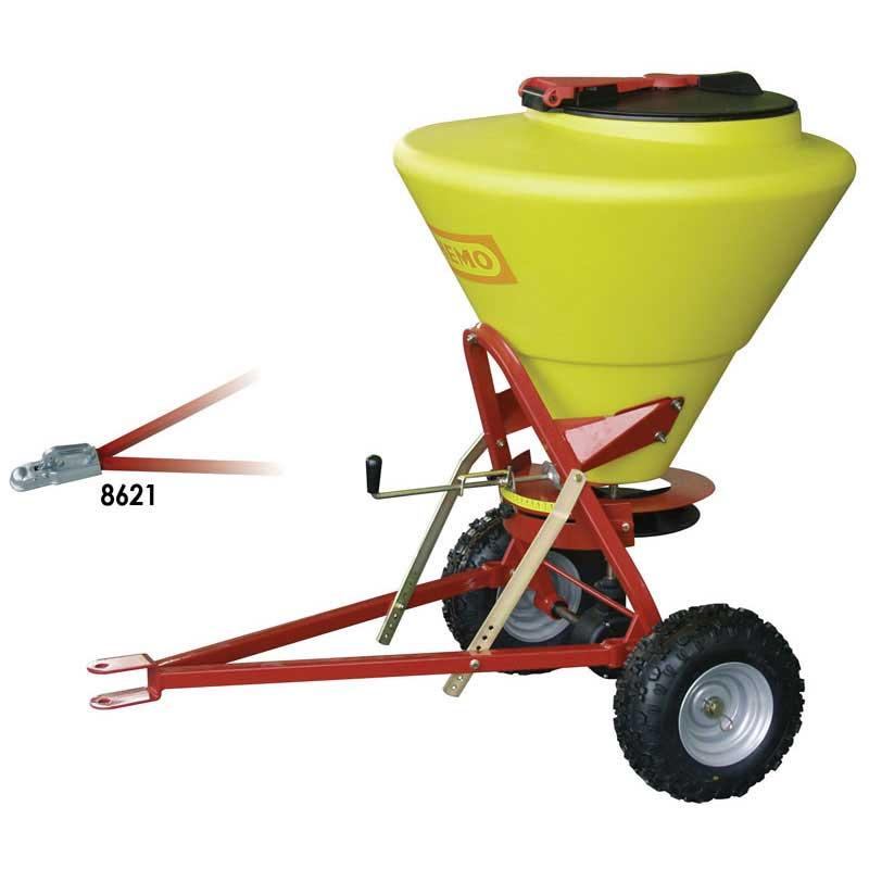 Towable Grit / Salt Spreader 130ltr capacity - 5m spread