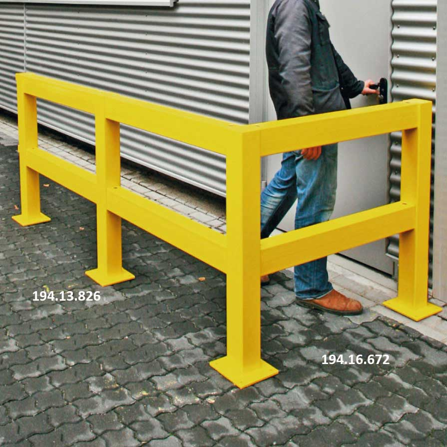 Heavy Duty Impact Protection Railing