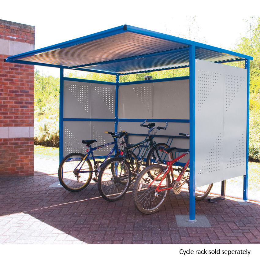 Traditional Cycle Shelters - 2450mm Wide, 1900mm Deep