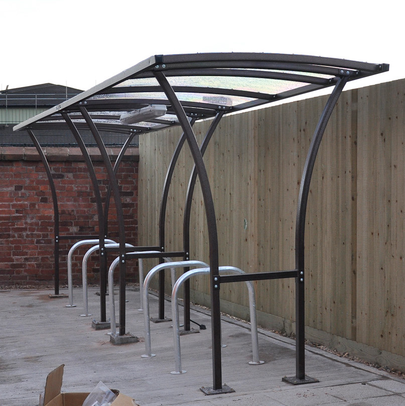 Centred Tintagel cycle shelter