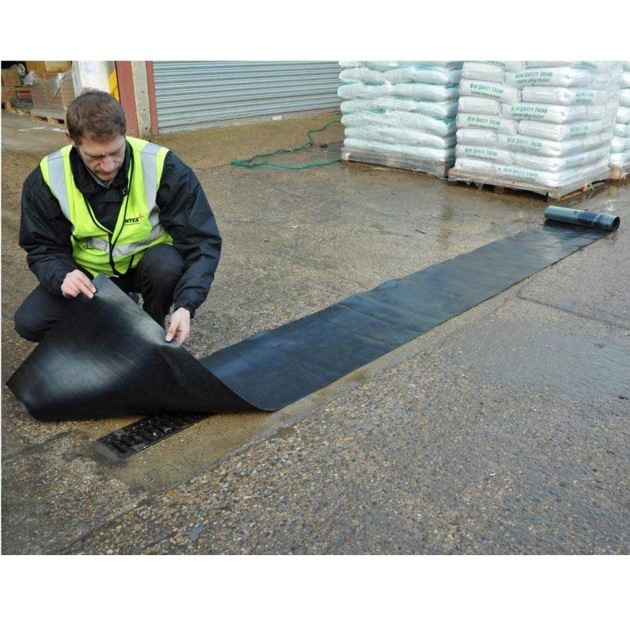 Neoprene Spill Control Gully Drain Cover Ese Direct