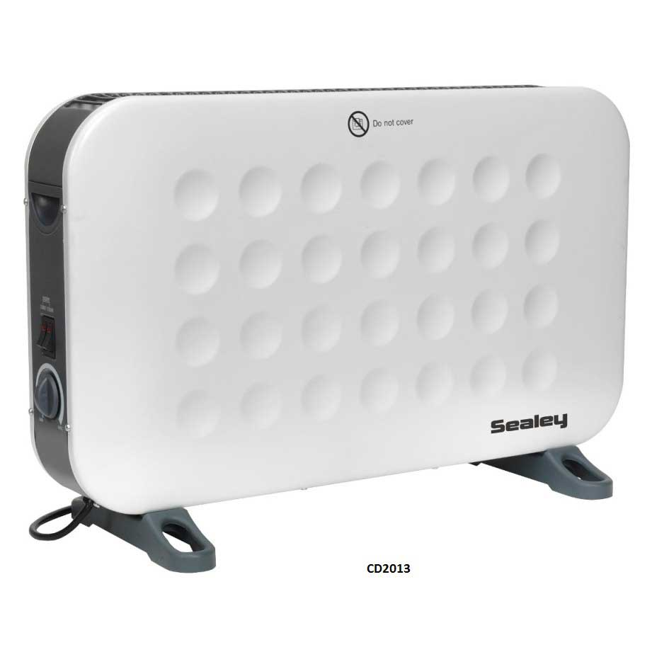 Sealey Convector Heater 2000W With 3 Heat Settings