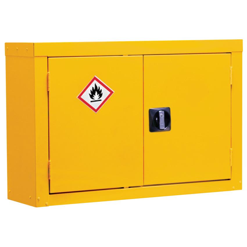 Wall Mounted Hazardous Storage Cupboards / Cabinets
