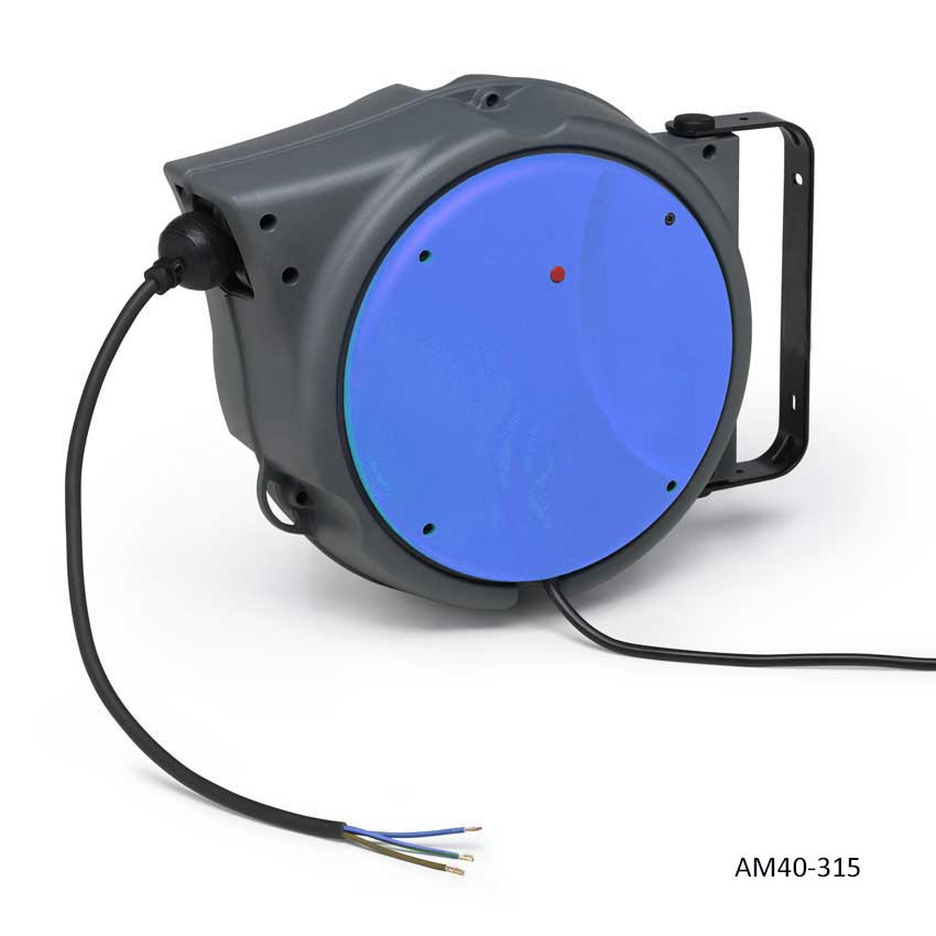 Reelcare 240v Retractable H/D ABS Commercial Cable Reel