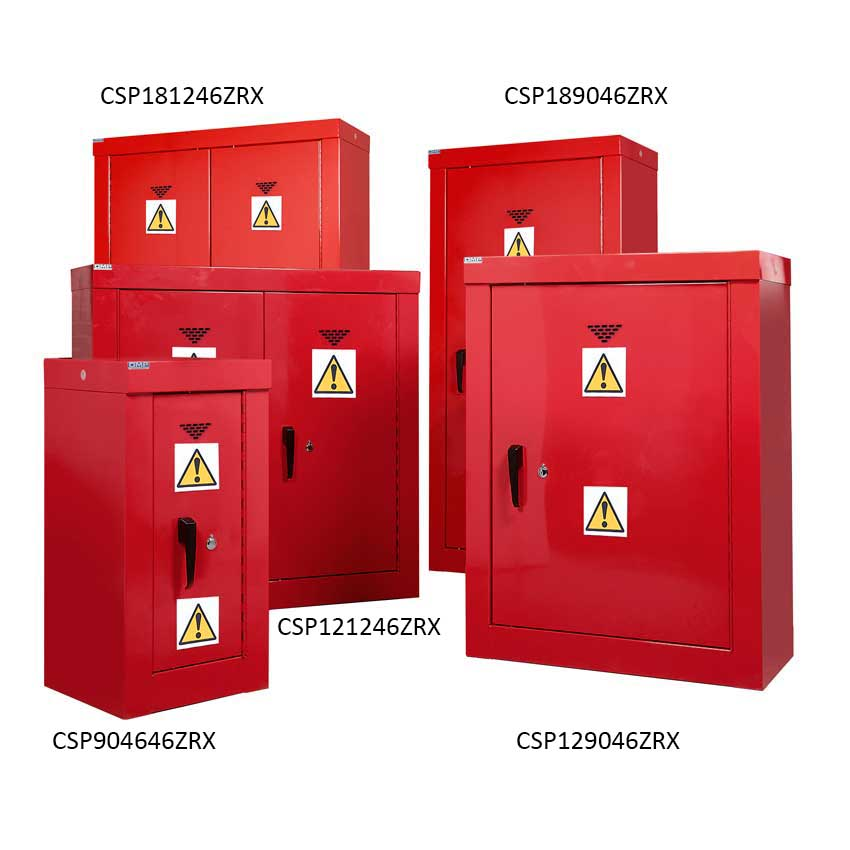 Pesticide & Agrochemical High Security Cupboards
