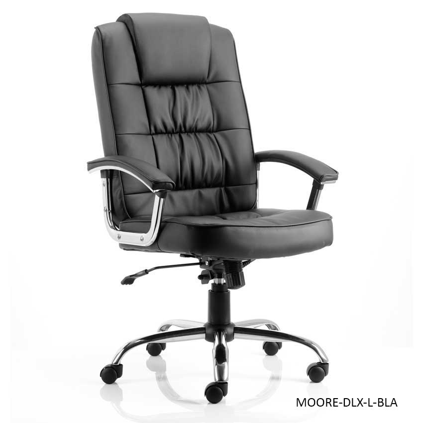 Moore Deluxe Executive Leather Office Chairs