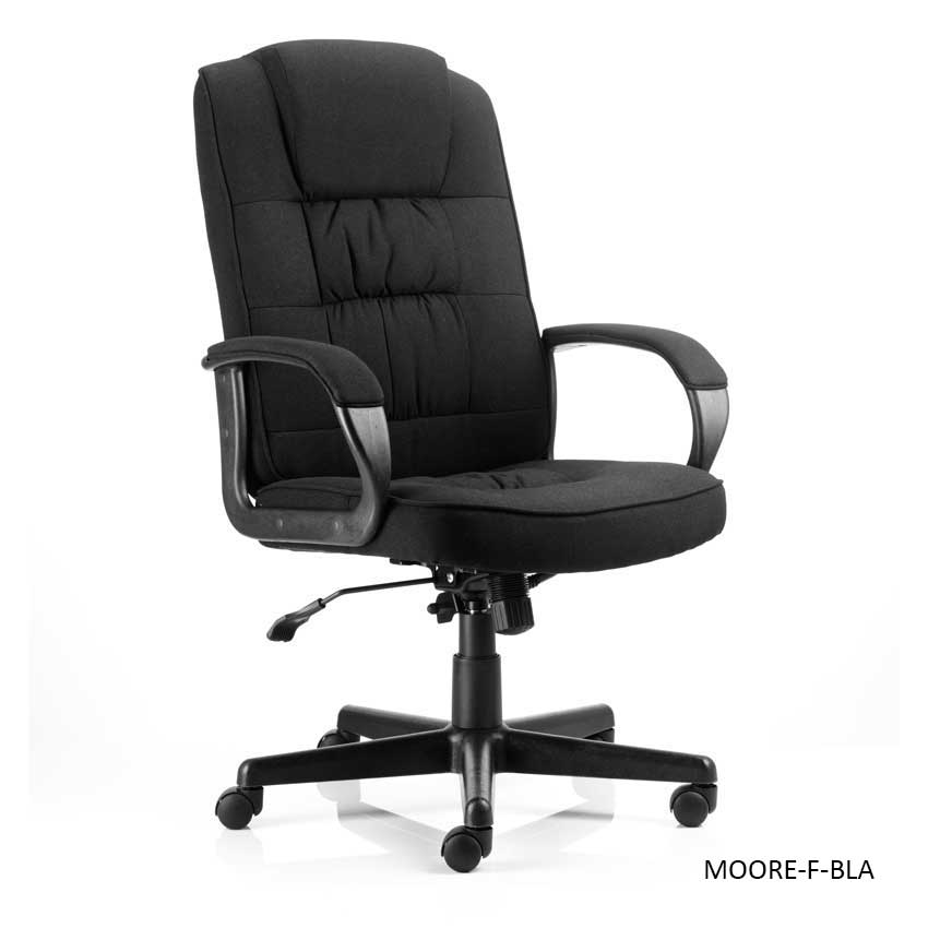 Moore Executive Fabric Office Chairs