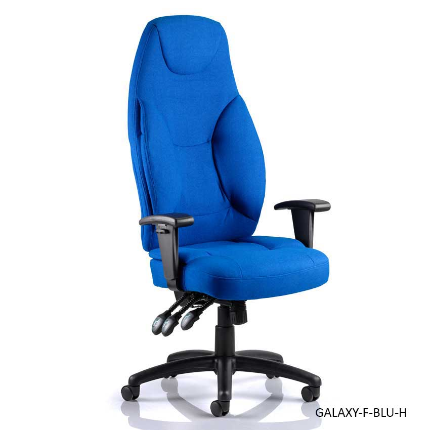 Galaxy Fabric Operator Chairs