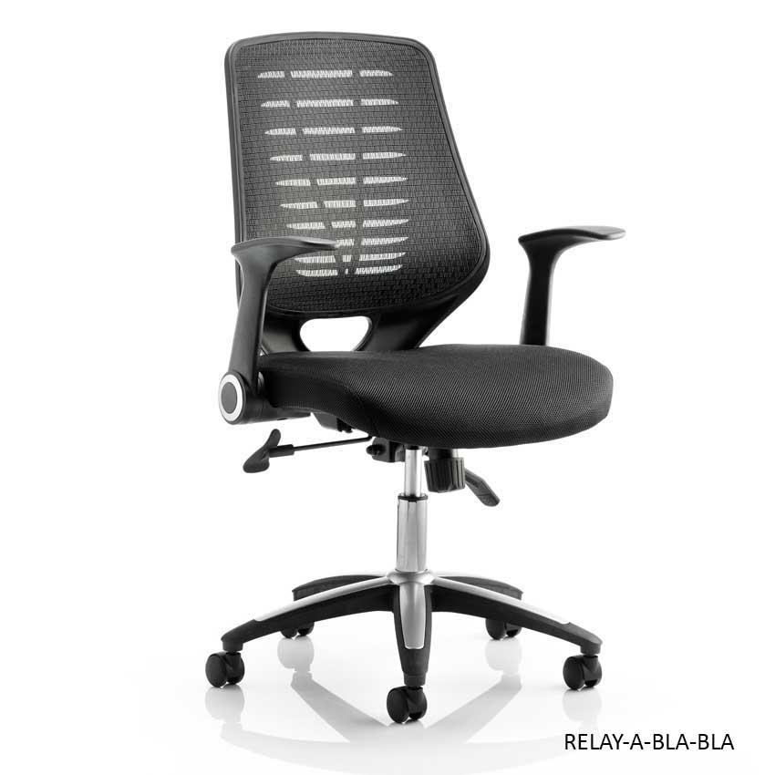 Relay Airmesh Operator Chairs