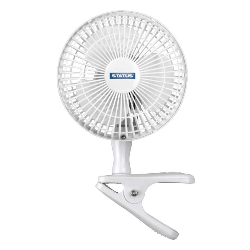 6″ Clip On Desk Fan