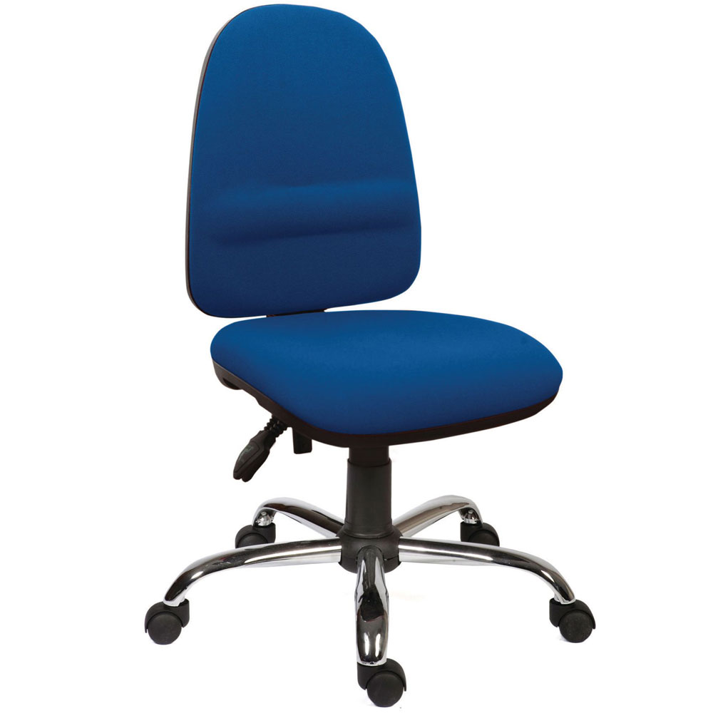 High Back Operator Chair with Lumbar Support