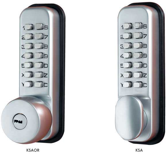 Mechanical Standard Duty Digital Door Locks