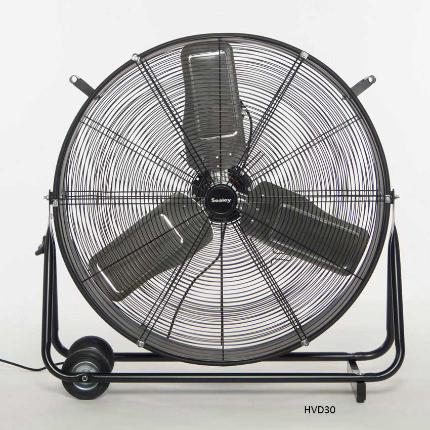 High Velocity Industrial Fans : Sealey hvd quot industrial high velocity drum fan ese