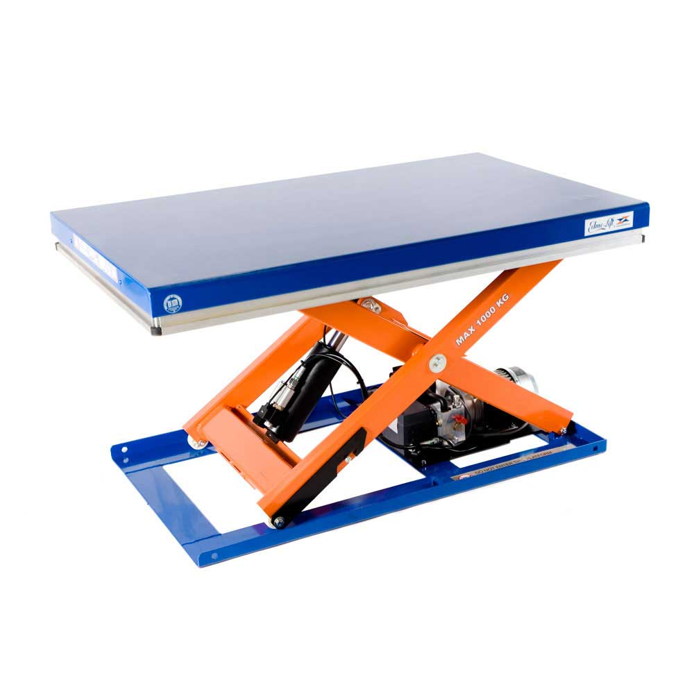 Single scissor lift tables 1 000kg to 10 000kg capacity for Bodendirect uk